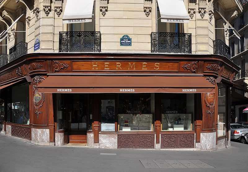 Hermès, une nouvelle croissance record en 2017