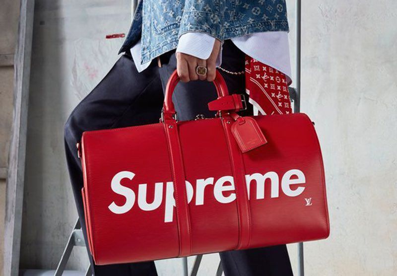 Louis Vuitton X Supreme : un pop-up store pour la collaboration évènement