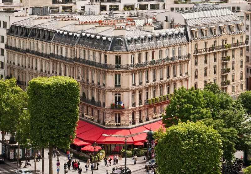 En attendant la brasserie, l'hôtel du Fouquet's a rouvert ses portes