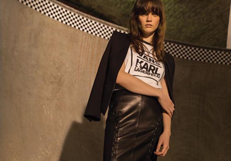 Vans et Karl Lagerfeld signent la collaboration mode la plus cool de la rentrée