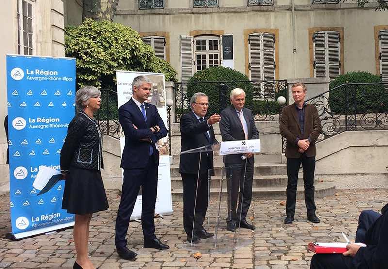 Le musée des Tissus de Lyon sauvé par la Région