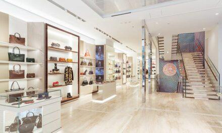 Longchamp inaugure un nouveau magasin amiral à Tokyo