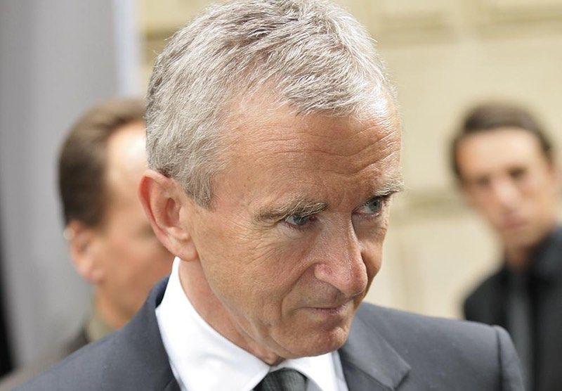 Bernard Arnault conserve sa place de 1ère fortune française