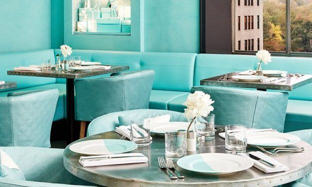 Tiffany & Co. inaugure son Blue Box Cafe à New York