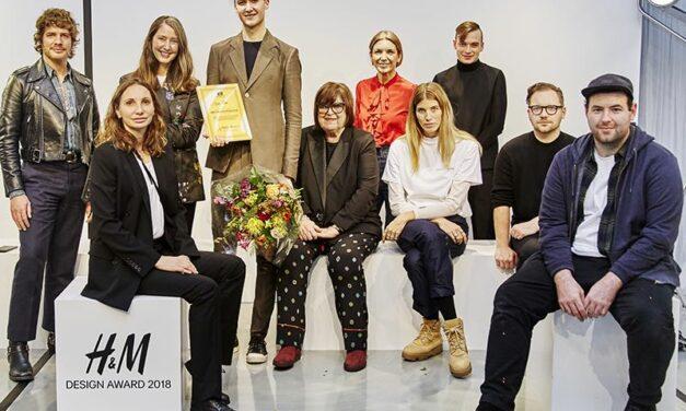 Stefan Cooke remporte le  H&M Design Award 2018
