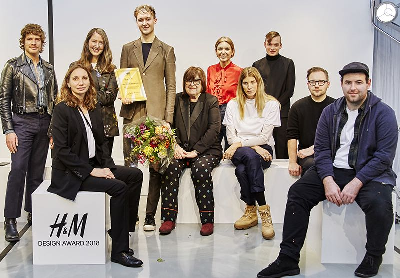 Stefan Cooke remporte le  H&M Design Award 2018