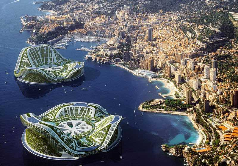 Seasteading : des villes autosuffisantes vont pousser au large de la Polynésie