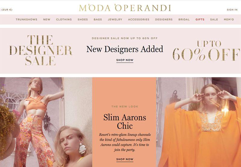 Moda Operandi lève 165 millions de dollars