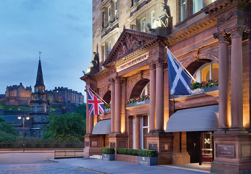 Vente record pour le Waldorf Astoria Edinburgh