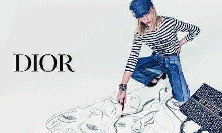 Dior enrôle Sasha Pivovarova comme nouvelle égérie