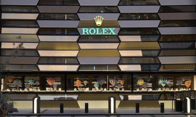 Rolex inaugure à Dubaï sa plus grande boutique au monde