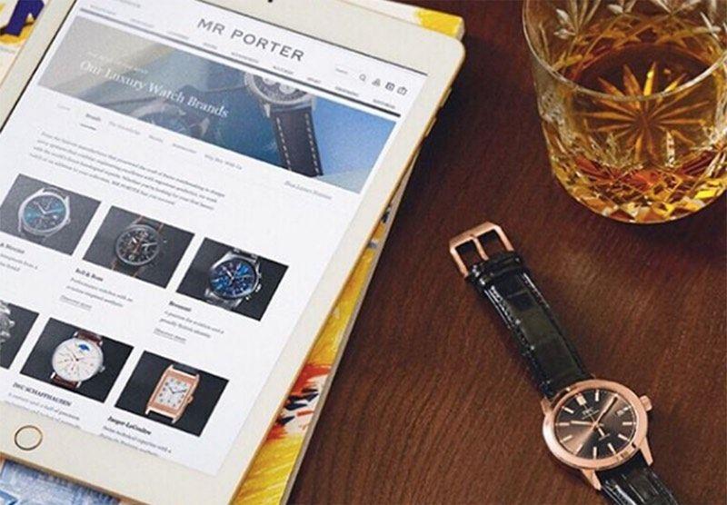 Mr Porter lance son guide horloger en ligne