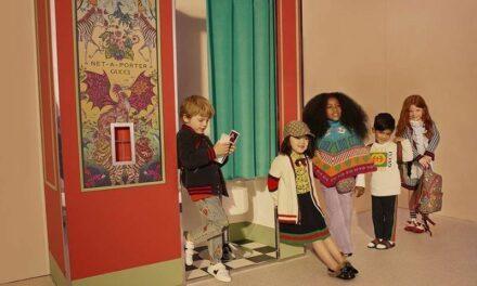 Net-a-Porter et Gucci dévoilent une collection enfant exclusive