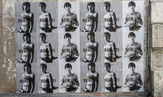 Berluti s'offre une nouvelle identité visuelle sous la houlette de Kris Van Assche