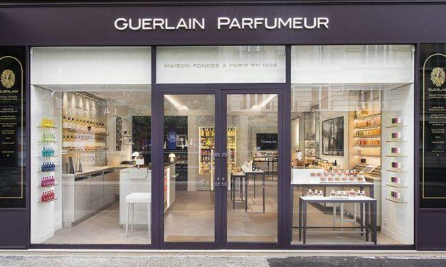 Guerlain réinvente sa boutique de la rue de Passy