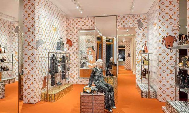 Louis Vuitton : un pop-up au coeur de Manhattan pour la collaboration avec Grace Coddington