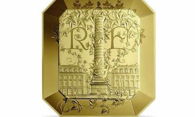 Collaboration entre la Monnaie de Paris et Boucheron