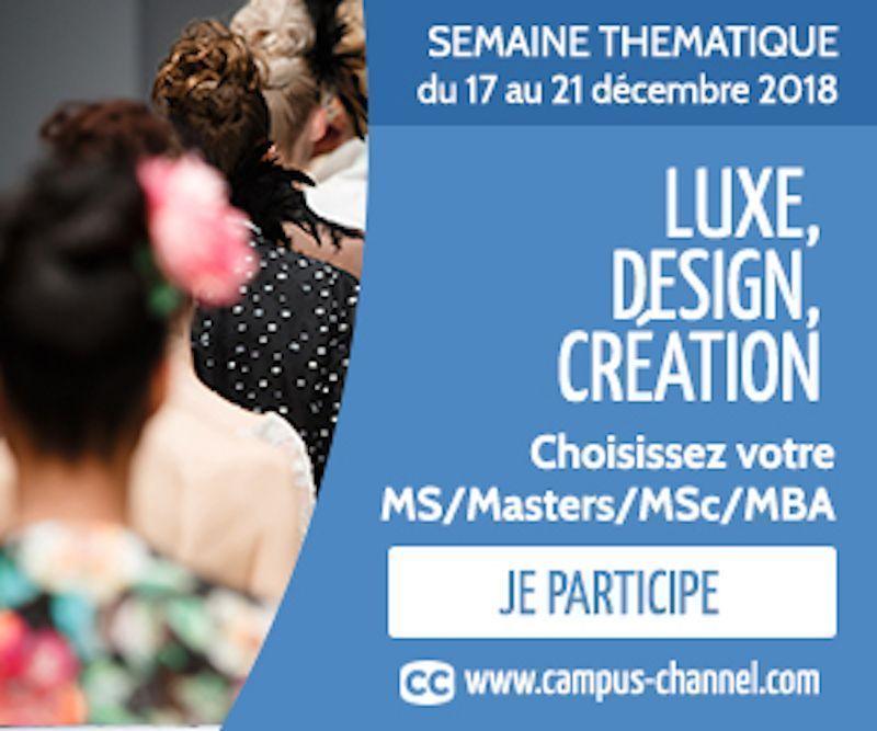 Campus Channel vous aide à choisir sa formation dans le luxe