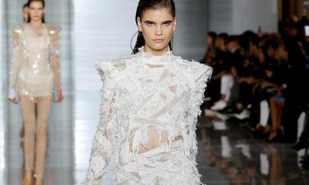 Balmain fait son grand retour en Haute Couture