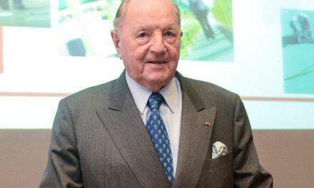 Le milliardaire belge Albert Frère est décédé