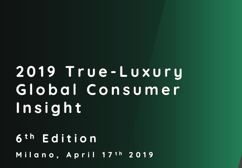 Sixième édition du rapport The True Luxury Global Consumer Insight