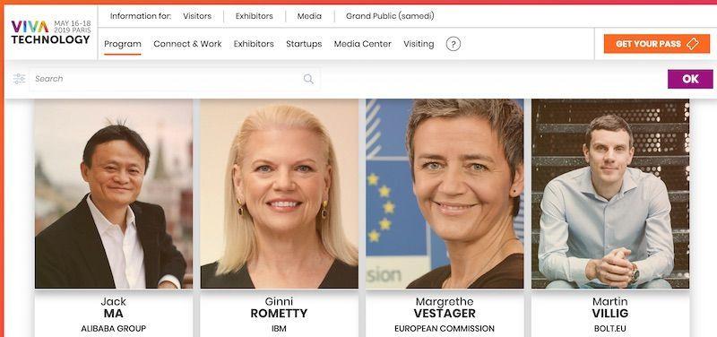 Speakers Viva Tech 2019