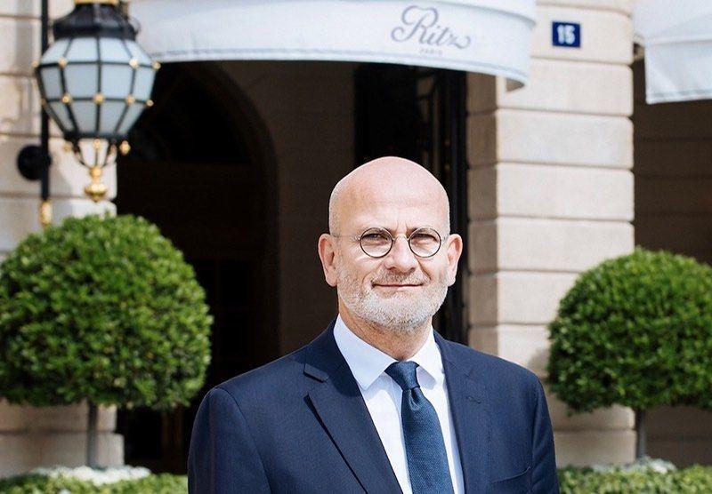 Marc Raffray prend la direction générale du Ritz Paris