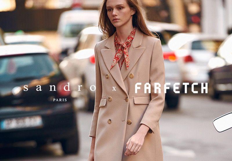 SMCP signe avec Farfetch pour développer Sandro sur le digital