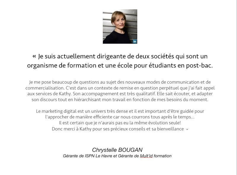 temoignage_client_abc_luxe_formation_chrystelle