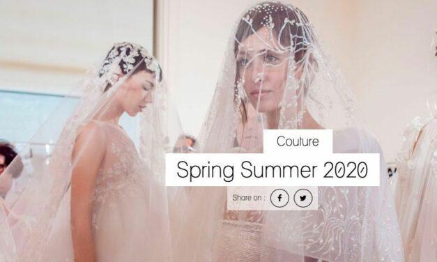 Georges Chakra : défilé couture printemps-été 2020