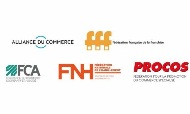 Mesures d'urgence les 5 fédérations majeures du commerce se mobilisent