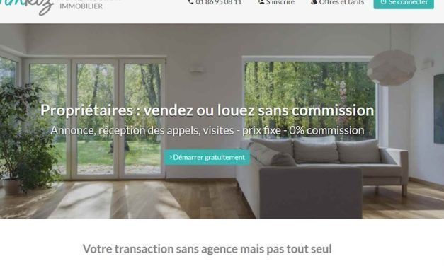 Innovation 1 : Imkiz invente l'agence immobilière 100% en ligne