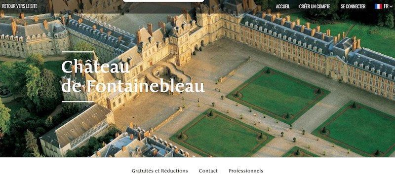château de Fontainebleau 2021